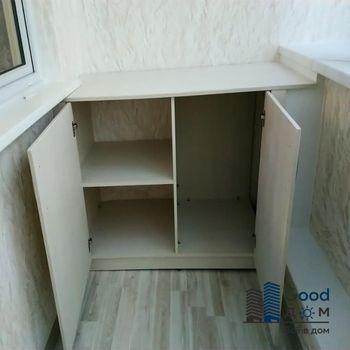Мебель из ЛДСП на лоджии