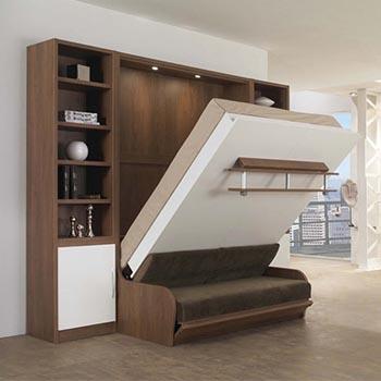 Кровать откидная с диваном
