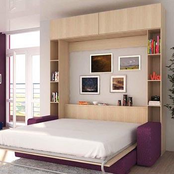 Откидная кровать для квартиры