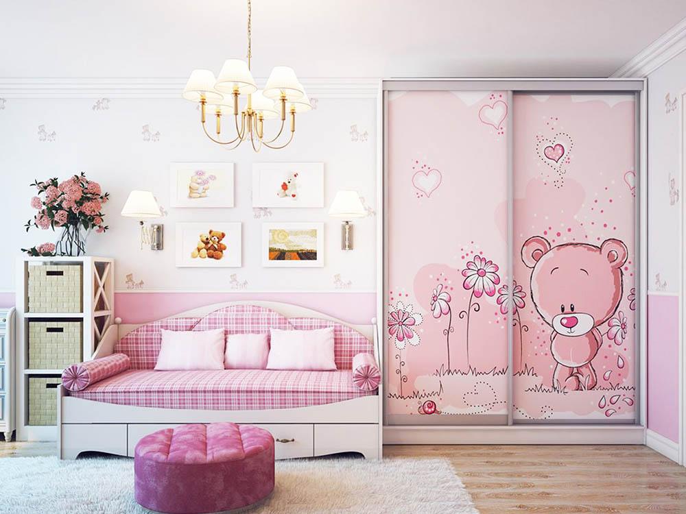 Картинки шкафов купе в детскую