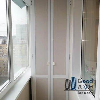 Шкаф ПВХ на балкон