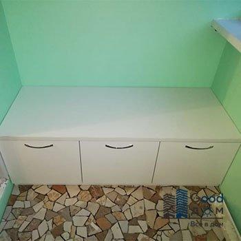 Диванчик с ящиками