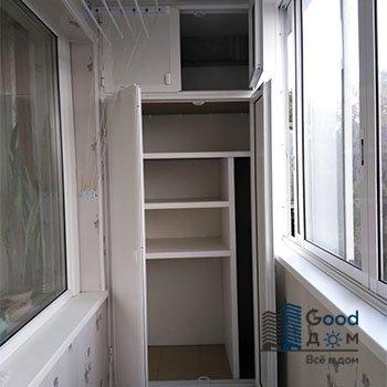 Распашной шкаф ПВХ