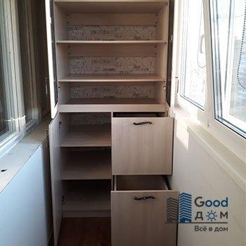 ЛДСП шкаф с ящиками
