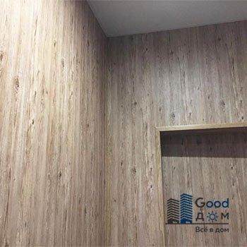 Отделка стен панель ПВХ ламинированная