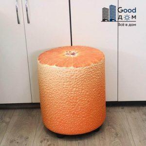 Пуфик цветной Апельсин