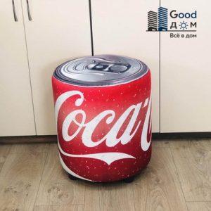 Пуфик цветной Coca Cola