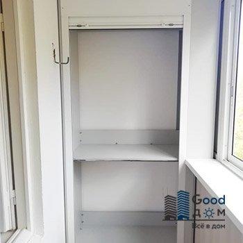 Шкафы с рольставни на балкон