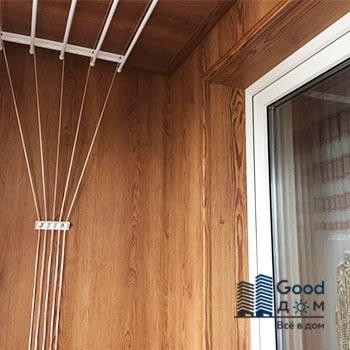 Капитальный ремонт холодной лоджии 2200/1150 мм