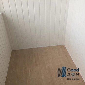 Стены и потолок обшивка вагонка ПВХ